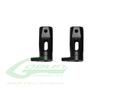 H0327BM-S - Aluminum Tail Blade Grip Black Matte - Goblin Black Thunder/Black Nitro