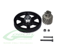 Heavy Duty Main Gear And Pinion-Goblin500 H0318-S