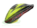 H0816-S - Canomod Airbrush Canopy SAB Yellow/Black - Goblin 420 Sport