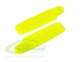 H0828-Y-S - Yellow Plastic Tail Blade 50mm