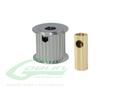 Aluminum Motor Pulley 19T (for 6/8mm motor shaft) - Goblin 770/Goblin 700 Competition [H0175-19-S]