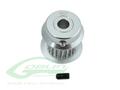 H0501-22-S - Aluminum Motor Pulley 22T - Goblin 380