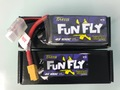Tattu Funfly Series 1300mAh 14.8V 100C 4S1P Lipo Battery Pack