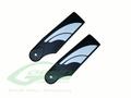 H0554-S - Plastic Tail Blades - Goblin 380