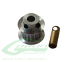 Aluminum Motor Pulley Z16 - Goblin 500/570 [H0215-23-S]