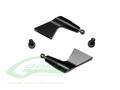 H0131BM-S - Aluminum Blade Grip Arm Black Matte - Goblin Black Nitro/Black Thunder