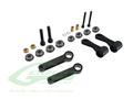 H0132BM-S - Radius Arm Set Black Matte - Goblin Black Nitro/Black Thunder