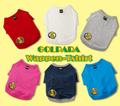 GOLPARA ワンちゃん用  ワッペンTシャツ
