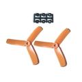 HQProp 4X4X3 Propeller - 2本 / Orange【x-866】