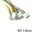 SH 1.0mm (3P/4P/5P/6P) Cable 9.5cm 【d-1066】
