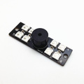 WS2812B 5050 RGB LED Strip W/ 5V Buzzer (Suit for flight control F3/ NAZE32/ Skyline32 etc.)【c-1179】