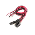 male 2 pin Molex plug with red/black 20cm with PVC 26AWG wire(5pcs)【b5-489】