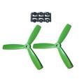 HQProp 5X4.5X3 Propeller - 2本 / Green【x-868】