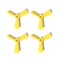 HQ-Prop 3045-3 DP Propeller YELLOW (2XCW, 2XCCW)【x-1210】