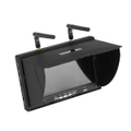 5.8G 40 Channel 7 inch FPV Diversity Monitor (Built-in battery) W/ DVR