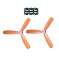 HQProp 5X4.5X3 Propeller - 2本 / Orange【x-869】
