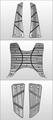 純正 アルミステッププレートセット X-HOT125/150