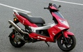 G-MAX220 マフラー チタンソリッド First Rosso
