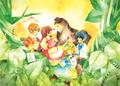 ポストカード【モノヅクリの森】