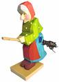ドイツ 木製魔女 ミニ