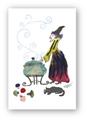ポストカード「魔女鍋」
