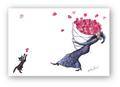 ポストカード「ハートがいっぱい」