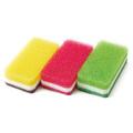 台所用スポンジ抗菌タイプ 台所用スポンジ3色セット