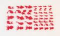 フィルムシート 金魚(赤)