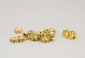 6×3 平型ロンデル(ゴールド) 黄水仙