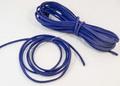 3x1.5mmフェイクスエードコード1m(ブルー)