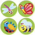 Itty Bitty Bugs Stickers