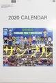 【お家でいたプロ!半額セール】2020年版いたばしプロレスカレンダー