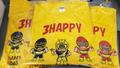 コラボTシャツ 3HAPPY Tシャツ