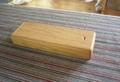 木の筆箱 ナラ