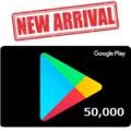 Google Playコード50,000円