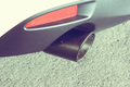 CARBON EXHAUST TIPS カーボンマフラーカッター2PS