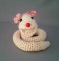 編みぐるみ へび
