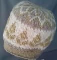編み込み帽子