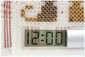 にゃんデジタル時計   <スケルトン:ホワイト>