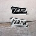 CLARK FOAM ステッカーS