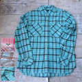 SPRAWLS LONG SLEEVE CHECK SHIRT【M】