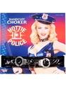 婦人警官コスプレ小物ポリス手錠付きチョーカー