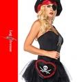 海賊用コスプレ小物パイレーツスカルBAG