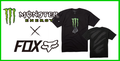【MONSTER ENERGY×FOX】MONSTER ZEBRA TEE