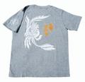 鳳鳴オリジナルTシャツ(グレー)