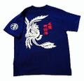 鳳鳴オリジナルTシャツ(紺)