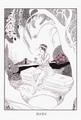 ポストカード「恋は盲目」/齋藤さち子