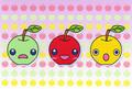 ポストカード「りんご」/刹那