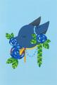 ポストカード「ブルーローズ」/izumi