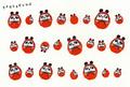 ポストカード「PANDARUMA」/TOKYOキャラクターフォーラム